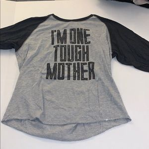 I'm one tough mother baseball shirt